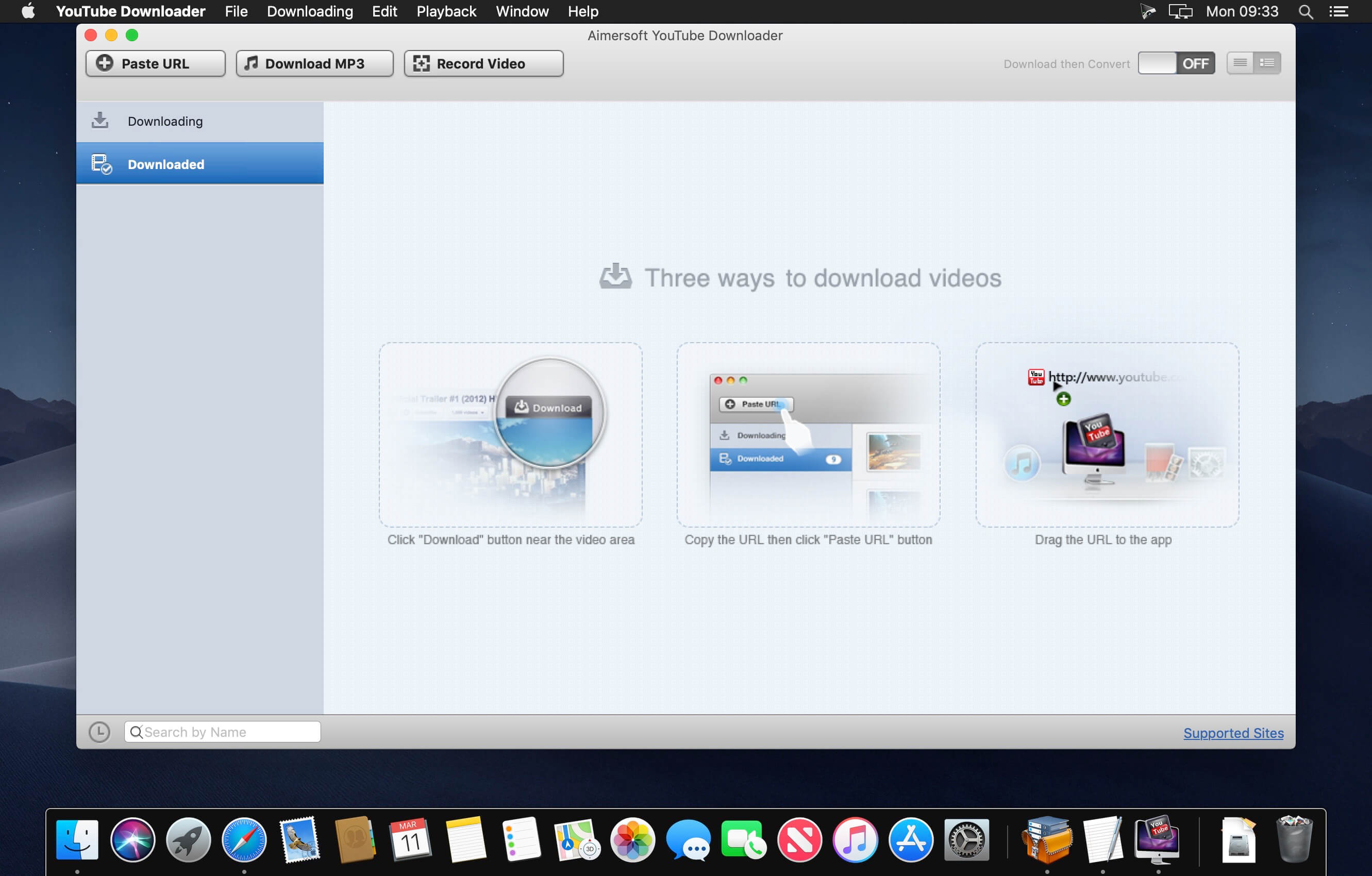 Aimersoft YouTube Downloader for Mac 5 7 3 download | macOS