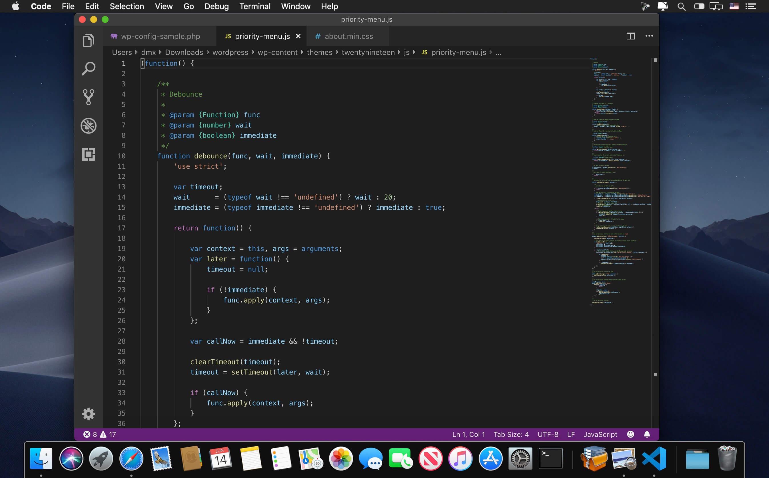 Visual Studio Code 1 37 1 download | macOS