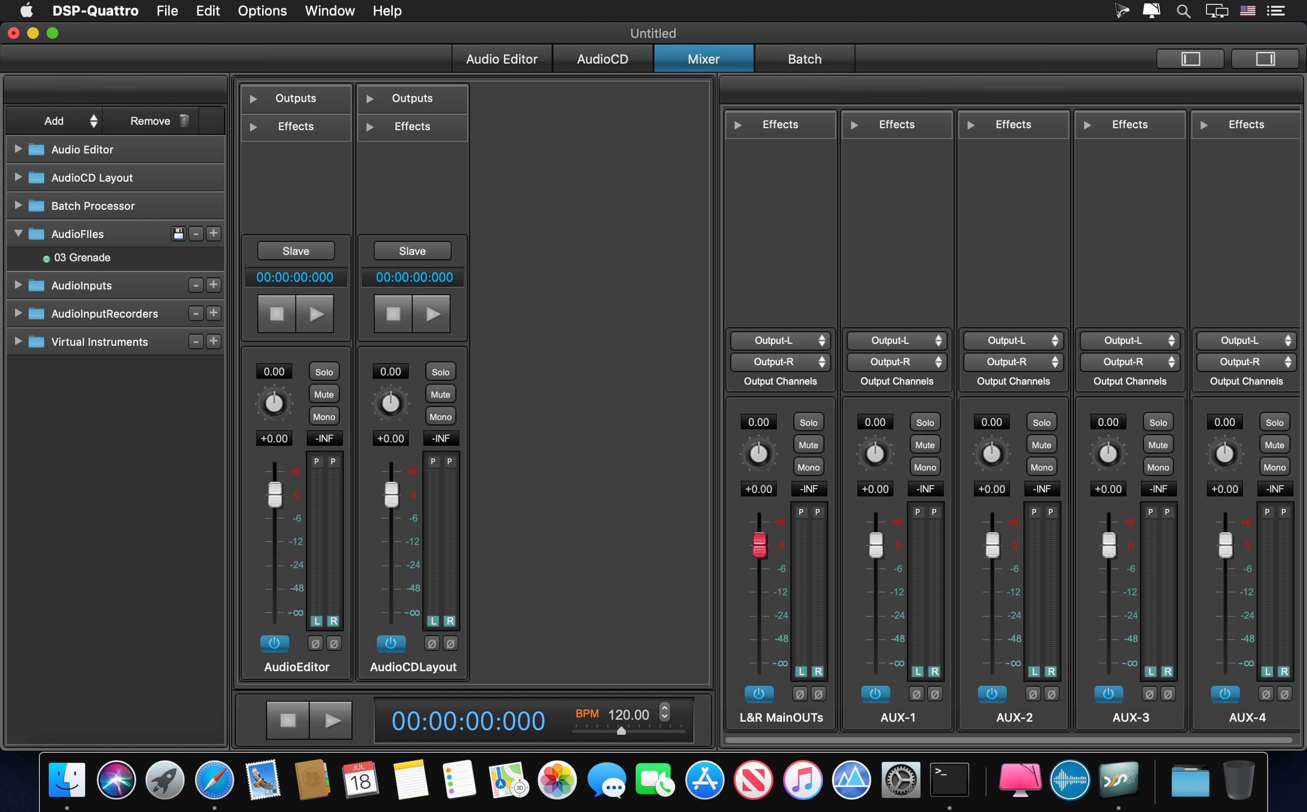 DSP-Quattro 5 1 2 download | macOS