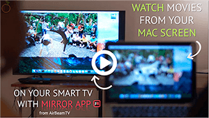 Mirror for Smart TV apps by AirBeamTV (upd 28.11.2019)