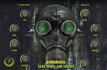 Famous Audio Sonorous - Dark Heavy DnB Tracks KONTAKT